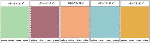 Pantones kåring af årets farver