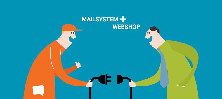 Integration mellem mailsystem og webshop